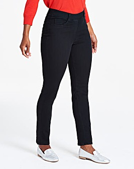 Black Bella Pull-On Slim Leg Jeggings