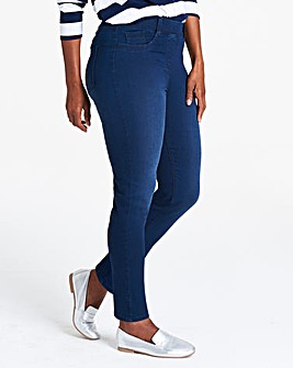 Indigo Bella Pull-On Slim Leg Jeggings