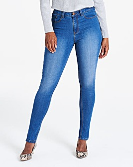 Blue Everyday Skinny Jeans Long
