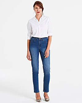 Blue Everyday Slim Leg Jeans Regular