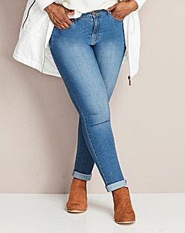 Petite Blue Everyday Slim Leg Jeans