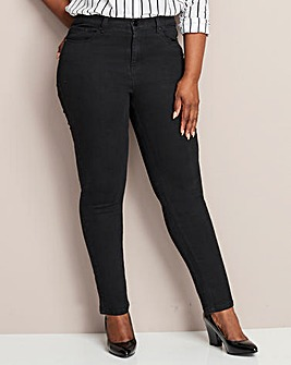 Petite Black Everyday Slim Leg Jeans