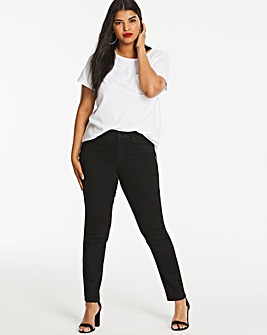 Black Everyday Slim Leg Jeans