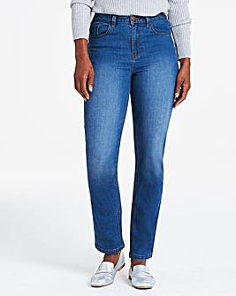 Blue Everyday Straight Leg Jeans