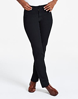 Petite Black Everyday Straight Leg Jeans