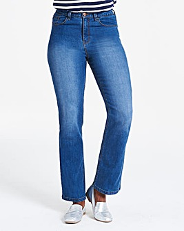 Blue Everyday Bootcut Jeans