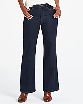 Petite Indigo Everyday Wide Leg Jeans