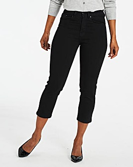 Black Everyday Crop Jeans