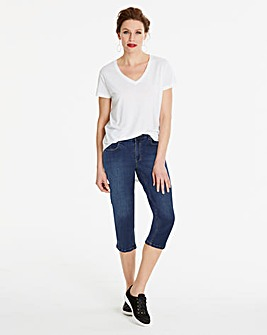 Blue Everyday Crop Jeans