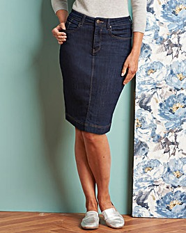 Indigo Everyday Denim Skirt
