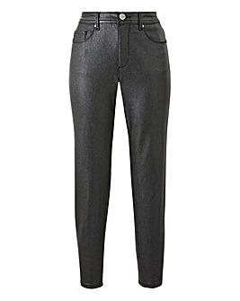Black Sadie Glitter Slim Leg Jeans