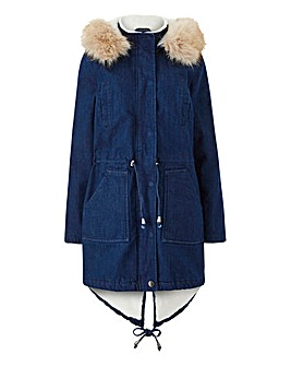 8696c0785af2 Women s Parka Coats   Jackets - Plus Size