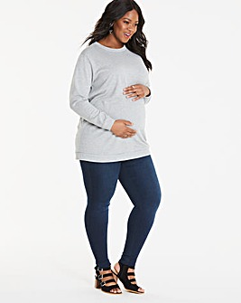 Maternity Sophia Fly Front Jegging