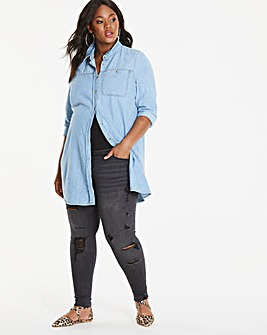 Maternity Chloe Distressed Skinny Jean