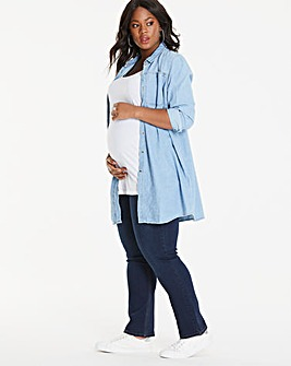 Maternity Everyday Straight Leg Jean