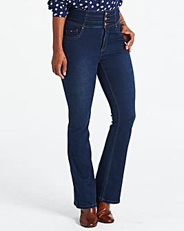 Shape & Sculpt High Waist Bootcut Jeans