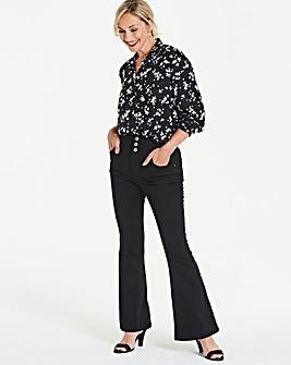 Shape & Sculpt High Waist Flare Jeans