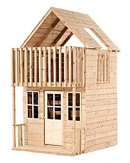 TP Loft Wooden Playhouse