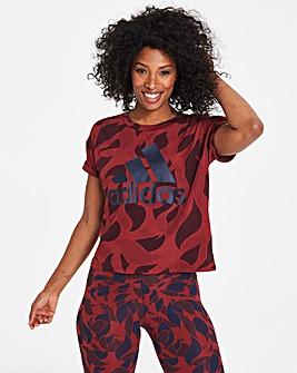 adidas Essential AOP T-Shirt