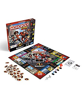 The Incredibles Monopoly Jr
