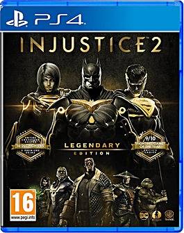 Injustice 2 Legendary PS4