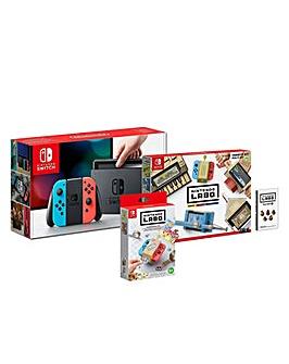 Nintendo Switch Console and Labo Bundle