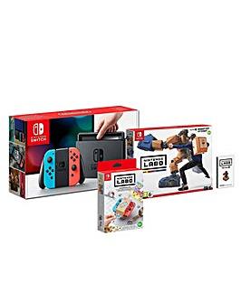 Nintendo Switch and Labo RobotKit Bundle