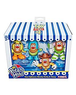 Toy Story 4 Mr Potato Head Mini 4 Pack