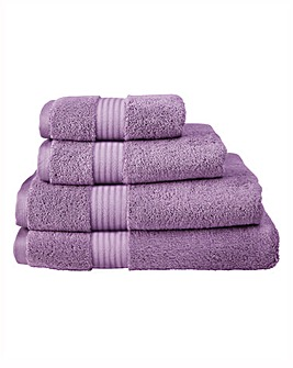 Pima Cotton Luxury Towel Range - Mulberry