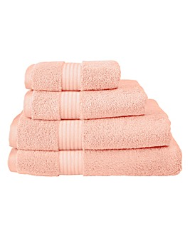 Pima Cotton Luxury Towel Range - Seashell Pink