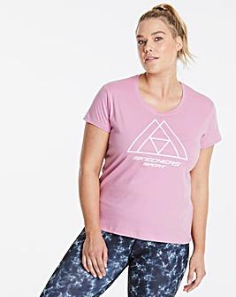 Skechers Amalia Print T-Shirt
