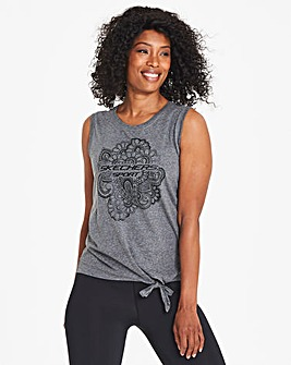 Skechers Zen Knot Front Top