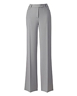 Slimma Wide Leg Stripe Trouser L26in