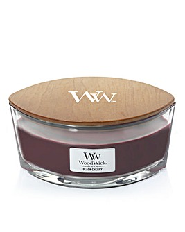 Woodwick Black Cherry Elipse Candle