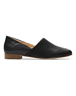 Clarks Pure Tone Slip On Shoes Wide E Fit