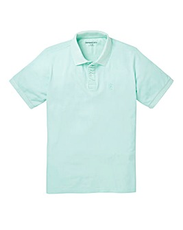 Capsule Mint Embroidered Polo Long
