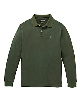 Capsule Khaki Long Sleeve Polo R