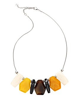 Resin Statement Collar Necklace