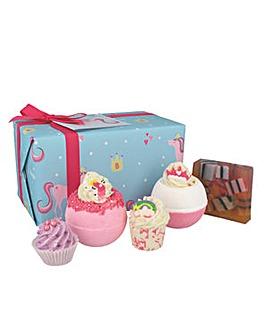 Bomb Cosmetics Sprinkle Of Magic Unicorn Bath Bomb Gift Set
