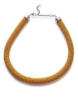 Seedbead Collar Necklace