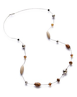 Mixed Animal Beaded Necklace