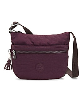 Kipling Arto Small Crossbody Plum Bag