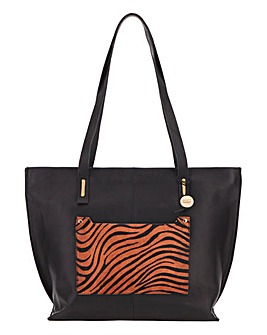 Oasis Tiger Print Tote Bag