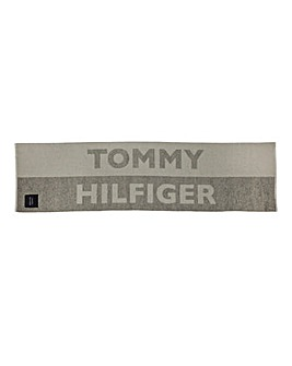 Tommy Hilfiger Logo Patch Blanket Scarf