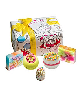 Bomb Cosmetics Colour Me Happy Bath Bomb Gift Set