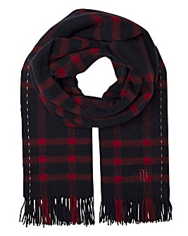 Tommy Hilfiger Checked Scarf