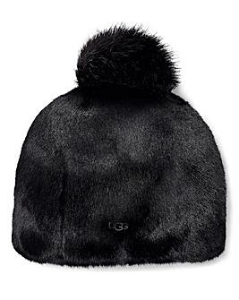Ugg Faux Fur PomPom Beanie