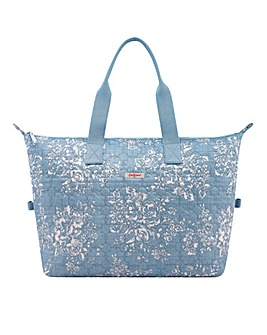 Cath Kidston Embroidered Overnight Bag