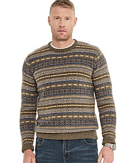 Fairisle Jumper Long