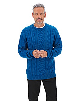 Cable Knit Jumper Long